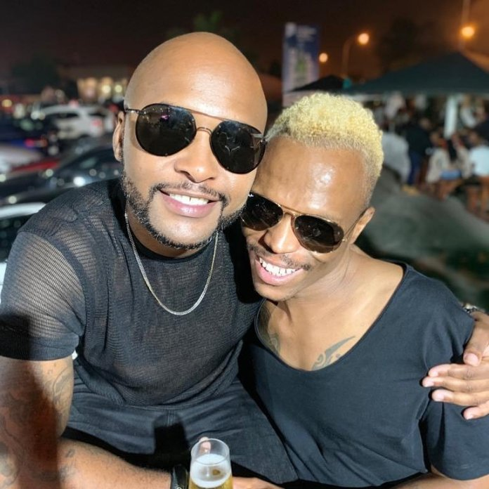 Watch: Somizi and Vusi Nova go out in a private jet for pleasure
