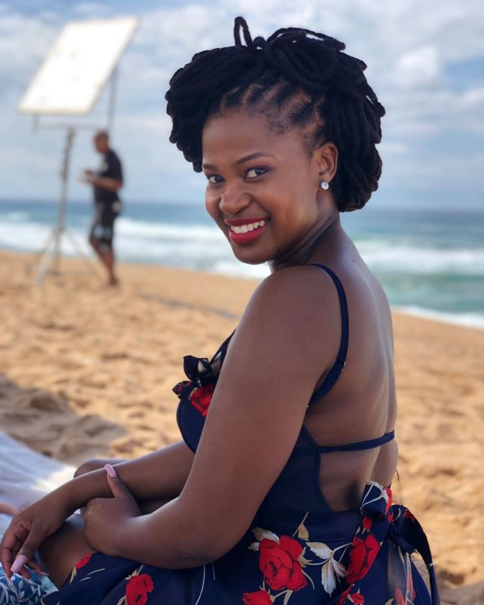 Actress Zenande Mfenyana: I don't need approval from anyone to put food on the table