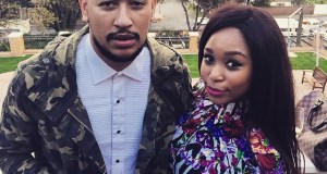 AKA and Minnie Dlamini