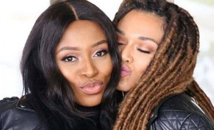 DJ Zinhle shows some love to her bestie Pearl Thusi on her boss business move