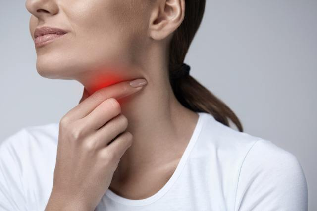 Chronic neck pain could be a symptom of HIV