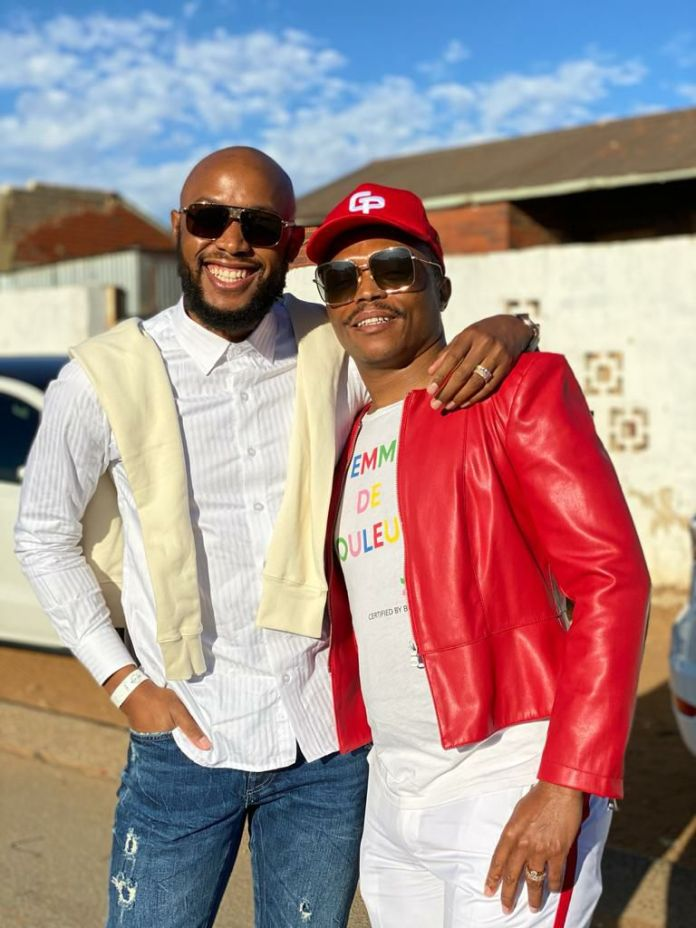 Did Mohale just throw a shade at Somizi? – Pictures