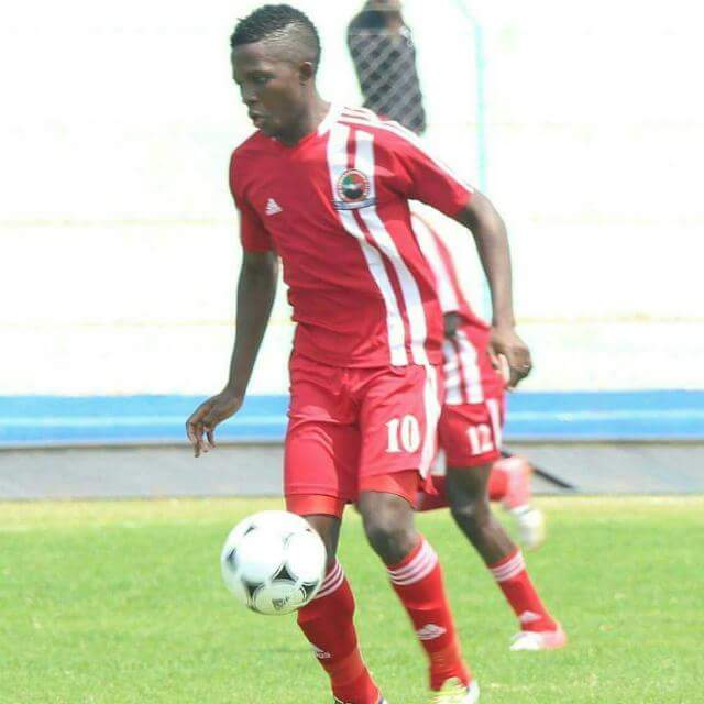 Bruce Musakanya has been signed by Zesco United