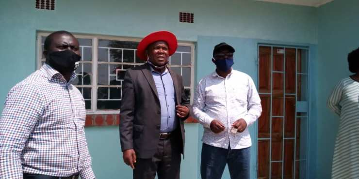 Magoye Constituency has built 3 houses & 1 clinic with CDF