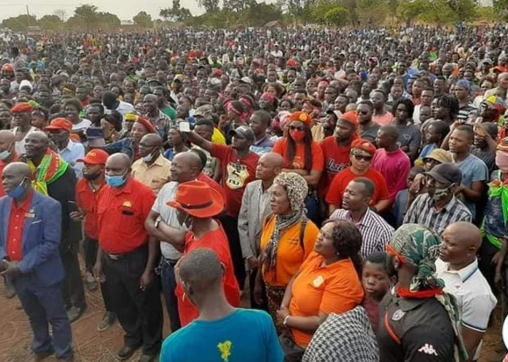 """HH's Use of the Derogatory Bemba """"C"""" word at a Public Rally has Social Media talking"""