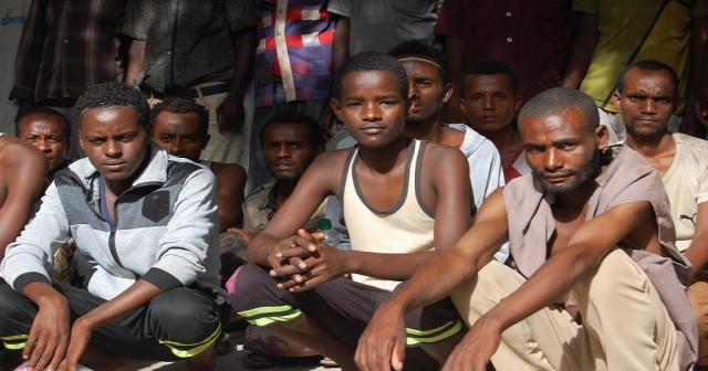 12 Ethiopian immigrants