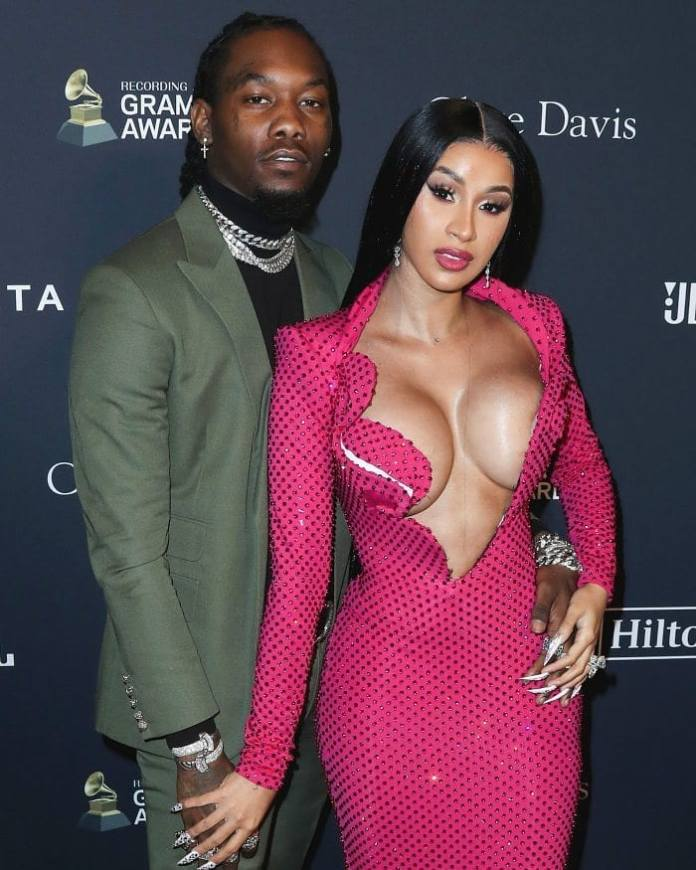 Cardi B defends husband Offset in Twitter rant