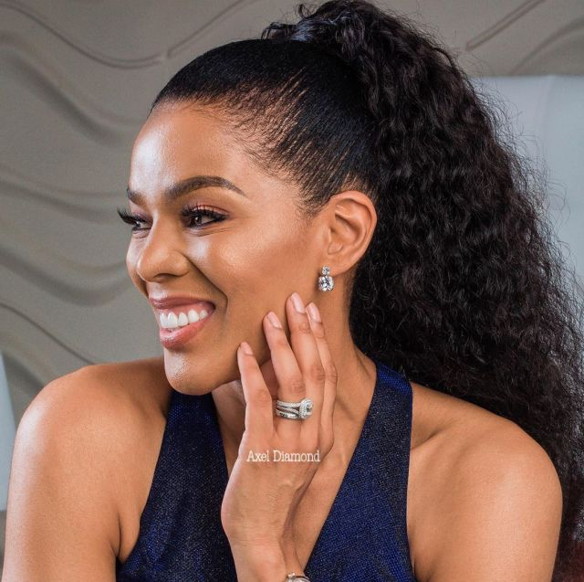 PIC: Connie Ferguson remembers her late mom with a sweet message