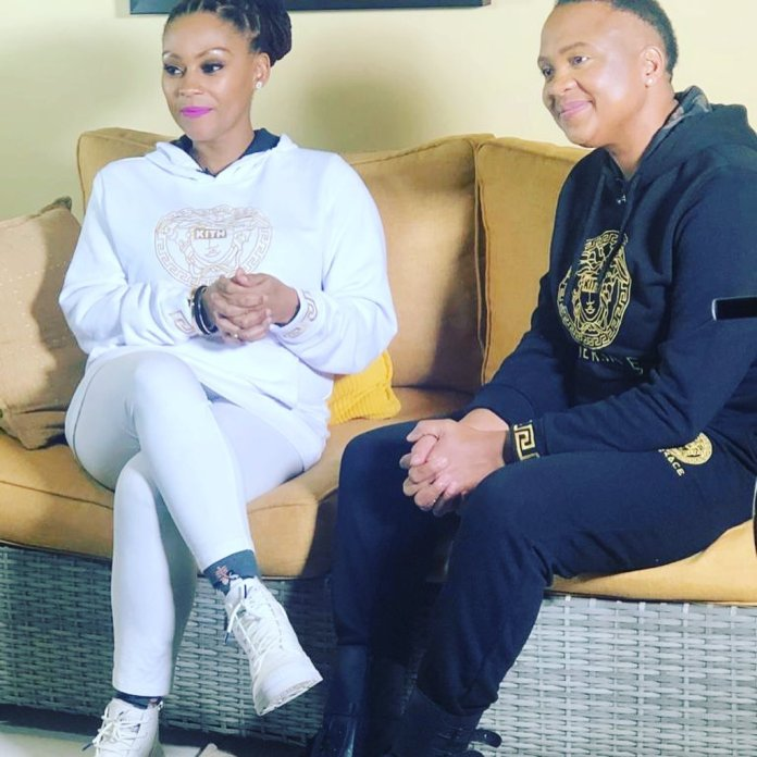 Actress Letoya Makhene & wife Lebo respond to claims they failed to pay R2 000 restaurant bill