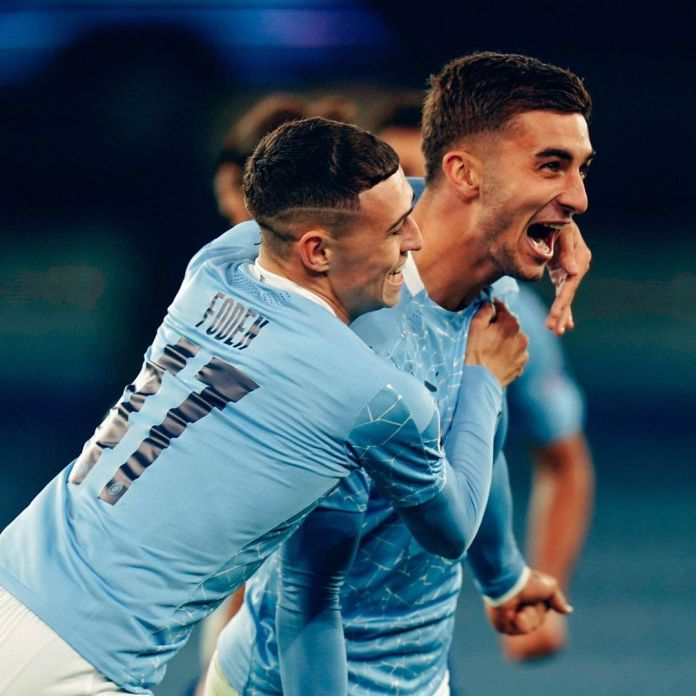Manchester City come from behind and beat FC Porto by 3 goals to 1