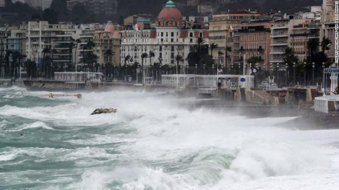 One dead, 19 missing in floods in France and Italy