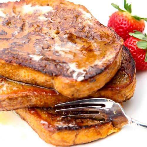 Vegan French toast with berries – Recipe