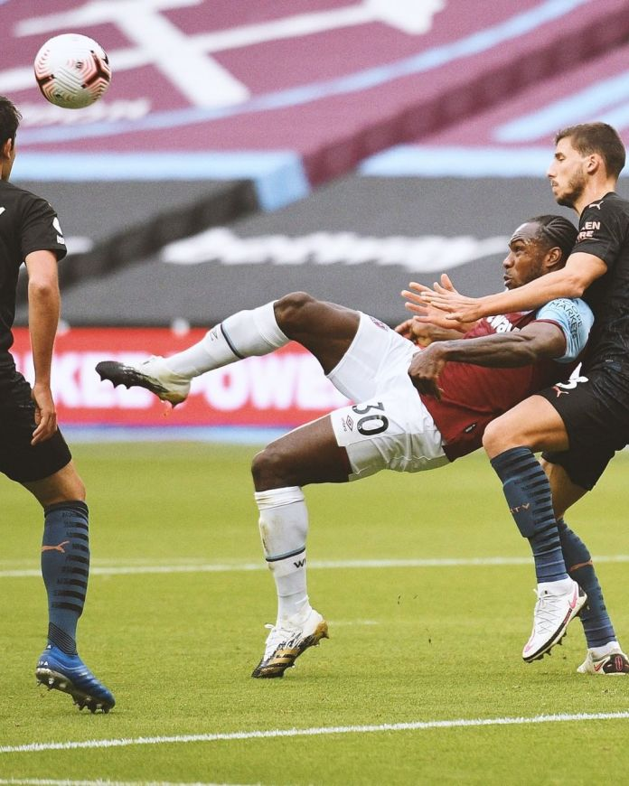 Manchester City held to a draw by an impressive West Ham