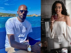 DJ Black Coffee and Sarah Langa