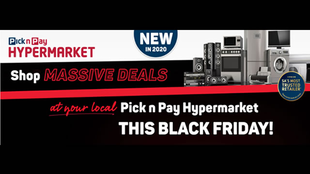 Pick N Pay To Launch Online Only Deals This Friday The 13th Of November