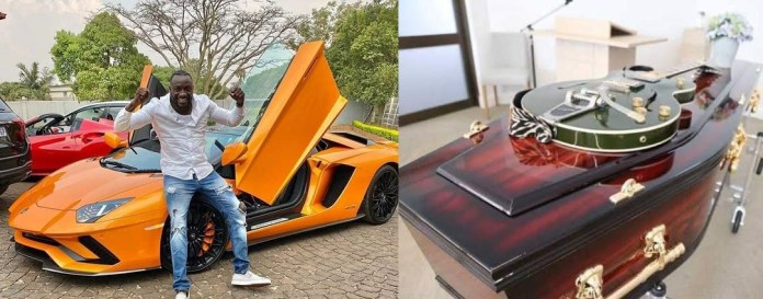 Ginimbi buys own casket a week before his death