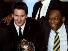 Lionel Messi equals Pele's goal-scoring record