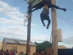 Lusaka man electrocuted after a failed attempt to drain transformer oil - Photos