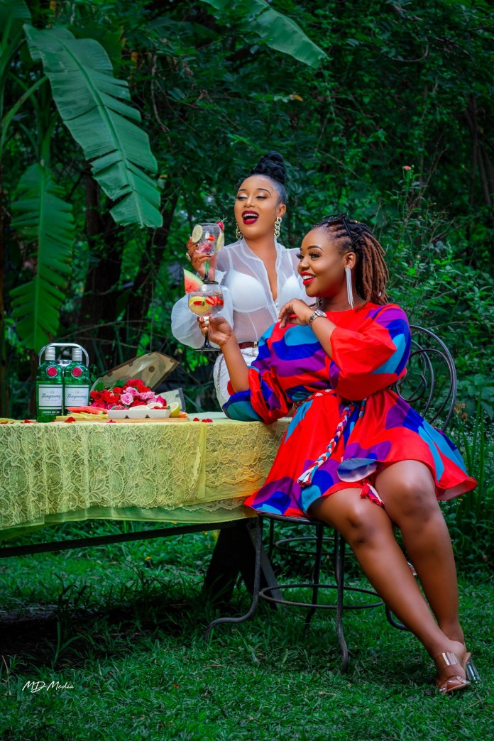 Bombshell Grenade And Cleo Ice Queen Serve Friendship Goals – Photos