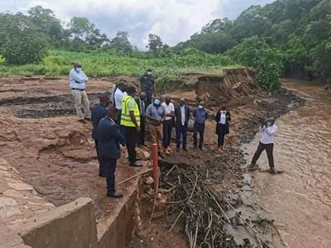 Minister Makebi Zulu engages Infrastructure Ministry over washed away bridges in the Eastern province