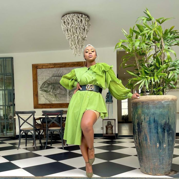 Rapper Cleo Ice Queen serves curves in new post – Photos