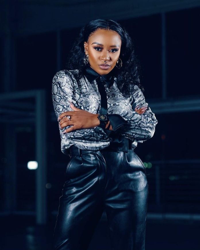 DJ Zinhle worried by close colleague leaking her personal life