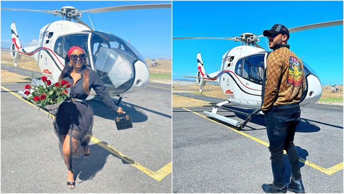 Boity and actor Anton make things official? – PICS