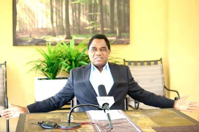 Hakainde Hichilema – They want to poison me and blame Covid-19