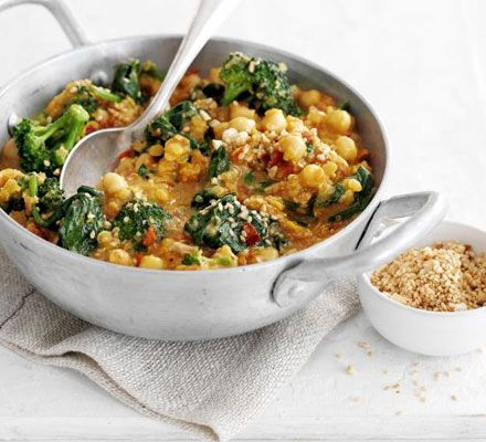 Mushroom, chickpea and spinach curry – Reipe