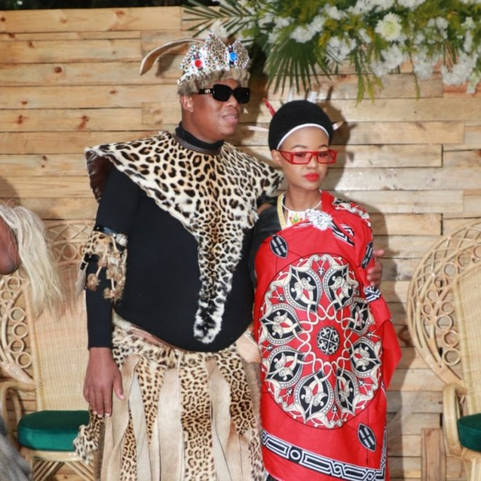 Watch – Mampintsha accused of stealing his traditional wedding outfit (bheshu)