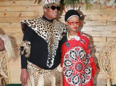 Babes Wodumo and Mampintsha beautiful traditional wedding