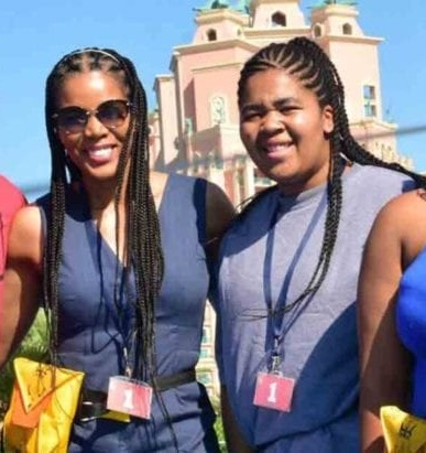 Connie Ferguson and daughter Alicia