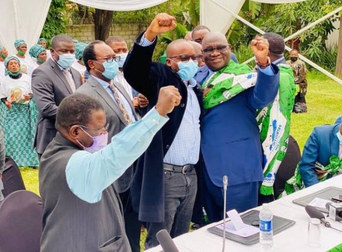 Geoffrey Lungwangwa officially ditches UPND to join PF