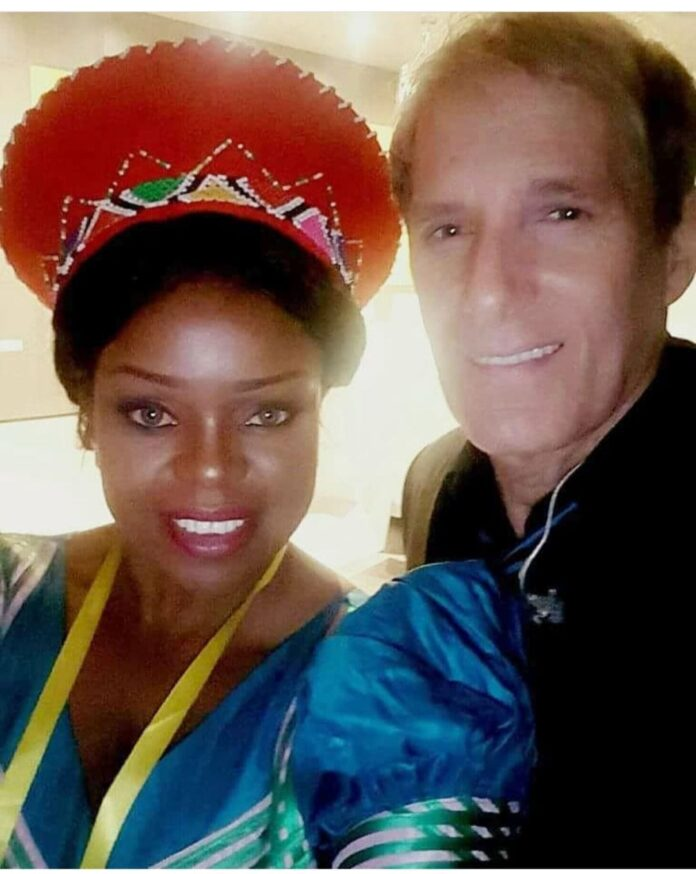 Music diva Mampi shares stage with American singer Michael Bolton