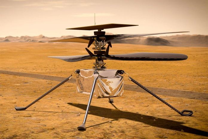 Nasa to fly helicopter over Mars for the first time