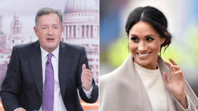 Piers Morgan and Duchess Meghan