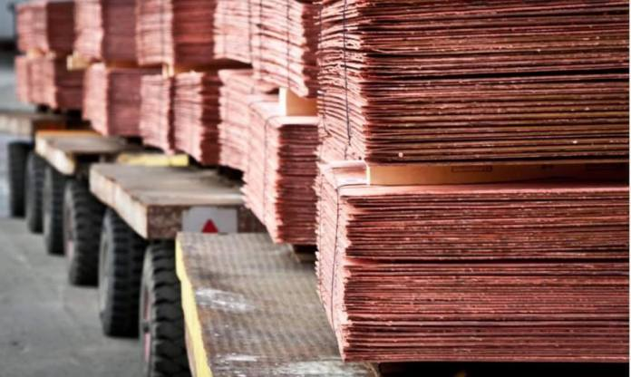 Copper prices remain high on London Metal Exchange