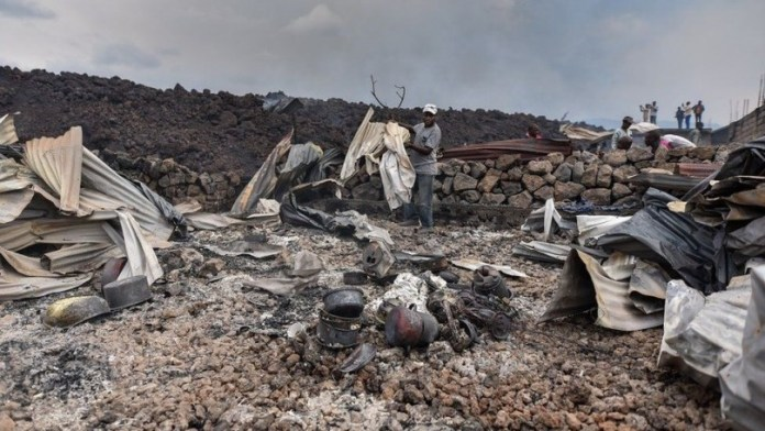Desperate search for missing children in DR Congo volcano eruption