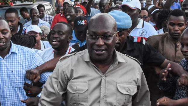 Tanzanian opposition leader arrested