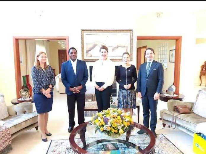 HH assures foreign diplomats of respects for human rights