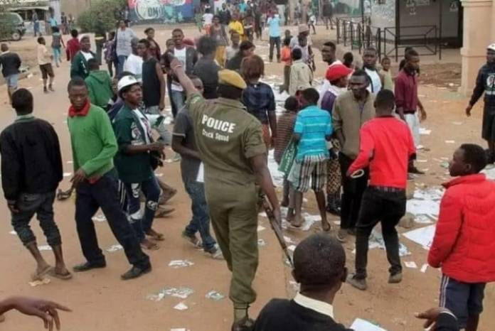 17-year-old UPND cadre shot by Police