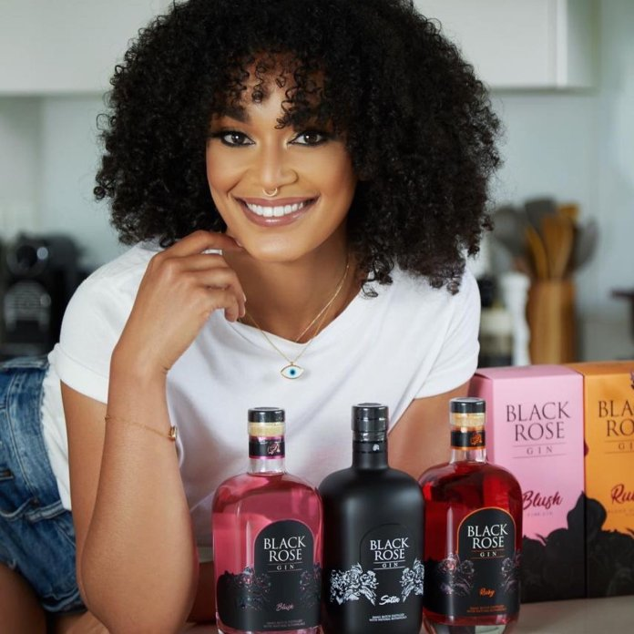 Pearl Thusi Acquires ownership Equity For #BlackPearlxBlackRoseGin