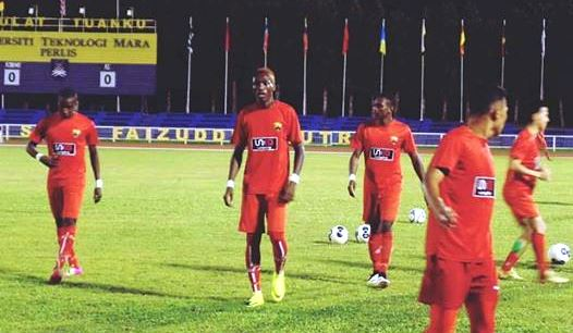 Zambian Striker Evans Kangwa Was In Action On Christmas