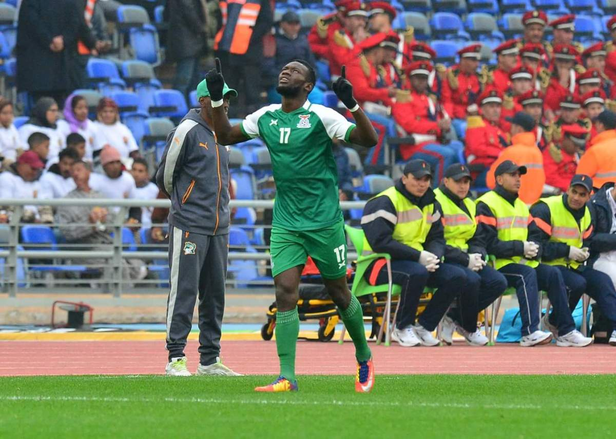 Man of the match Augustine Mulenga sets eyes on topping group