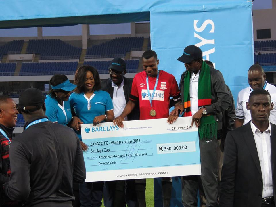 FAZ announce Barclays Cup finalists with shocking inclusion of Lusaka Dynamos