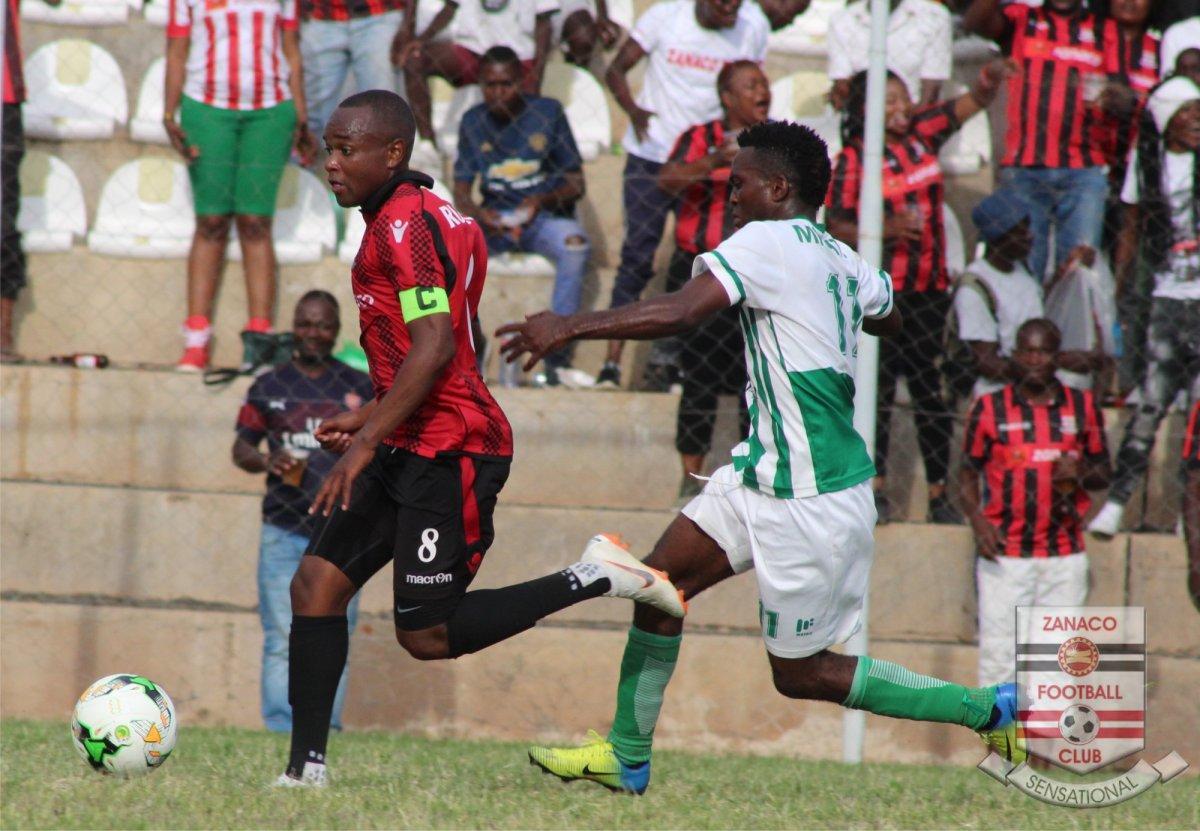 Mufulira Wanderers taught football lesson as Rusike nets hat-trick for Zanaco