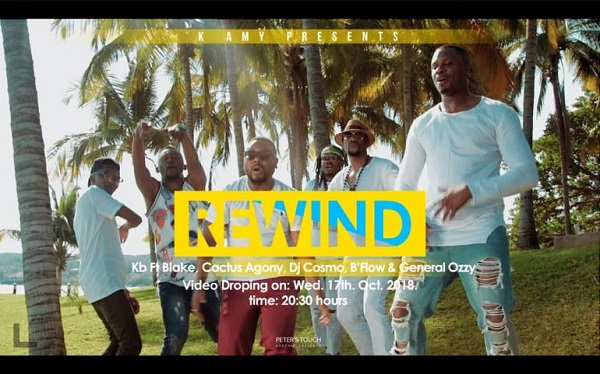 Download: KB Rewind ft Blake, Cactus Agony, DJ Cosmo, B'Flow