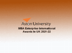 mba enterprise scholarship