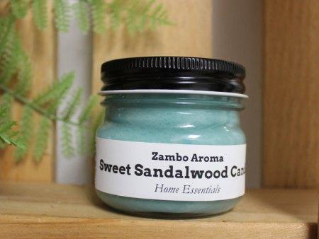 sweet sandalwood candle