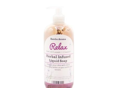 relax liquid soap